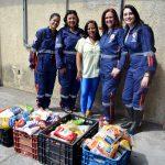 SAMU Solidário entrega300 quilos de alimento na CAASAH