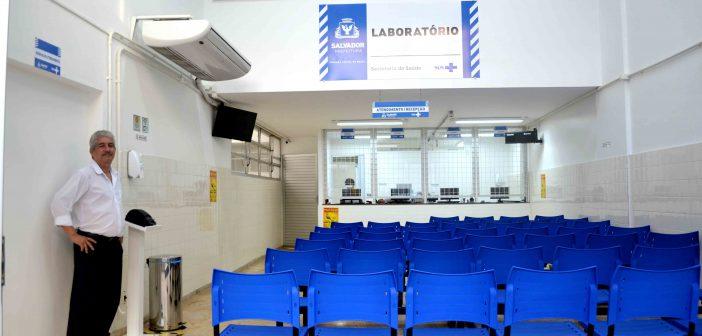 Exames laboratoriais podem ser feitos em mais de 60 salas de coletas espalhadas pela cidade
