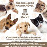 Castramóvel segue para IAPI a partir da próxima segunda-feira (02)