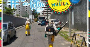 Prefeitura intensifica combate ao Aedes durante carnaval