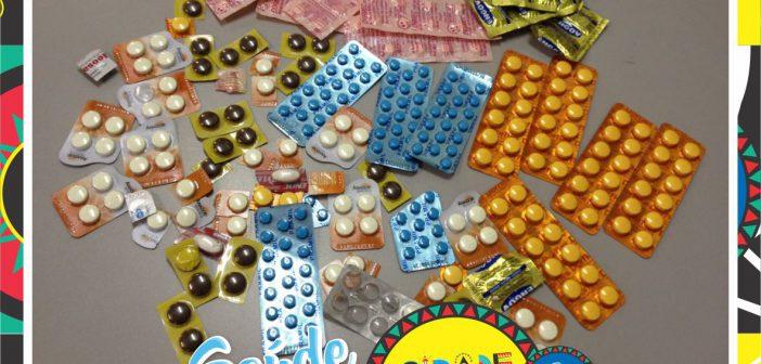 Vigilância Sanitária apreende medicamentos vendidos em bar do Centro da cidade