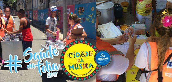 Prefeitura alerta para consumo de alimentos e água no Carnaval