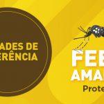 Lista das unidades de referência para a imunização contra a febre amarela