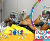 Baixo índice de transferência revela qualidade dos atendimentos de saúde nos circuitos do carnaval