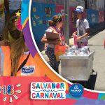 Vigilância Sanitária alerta foliões sobre cuidados com alimentação nos circuitos do carnaval