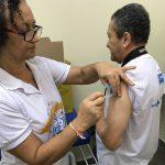 Salvador: sobe para 42% cobertura de vacinação contra a gripe