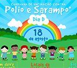 Sobe para 20% cobertura vacinal contra pólio e sarampo em Salvador
