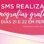 Outubro Rosa no Subúrbio: SMS realiza mamografias gratuitas nos dias 21 e 22 no bairro de Periperi