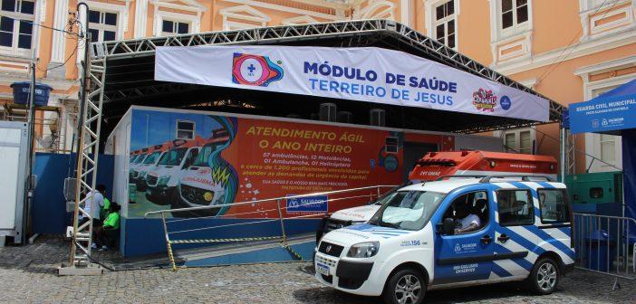 Folia no Pelourinho tem apenas 3% das ocorrências no Carnaval