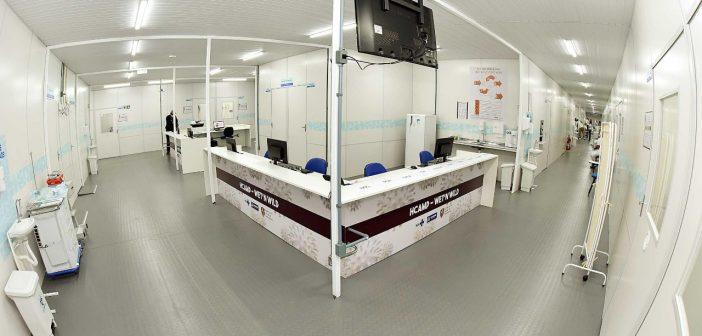 Hospitais de campanha da Prefeitura realizam mais de 150 atendimentos
