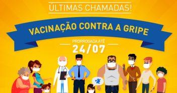 Campanha de vacinação contra gripe é prorrogada em Salvador
