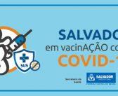 Idosos com 62 anos ou mais seguem sendo imunizados contra Covid-19 nesta quinta-feira (08) em Salvador