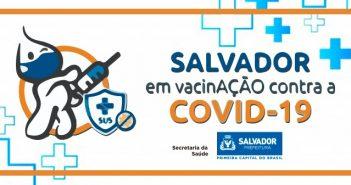 Prefeitura abre agendamento para aplicação da 1ª dose contra Covid-19 para grupos prioritários
